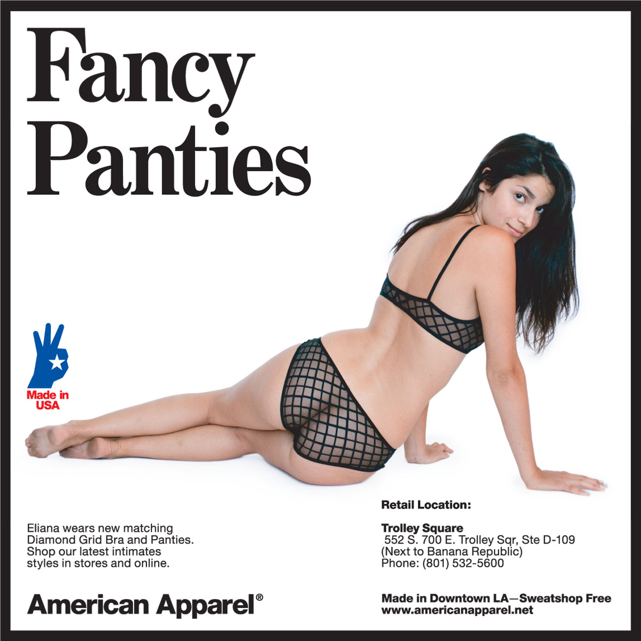 American Apparel Sex Ads. November 5th, 2010 by Karen One Response