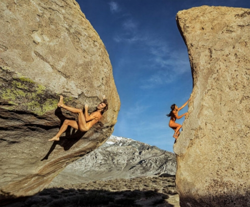 rockclimbers