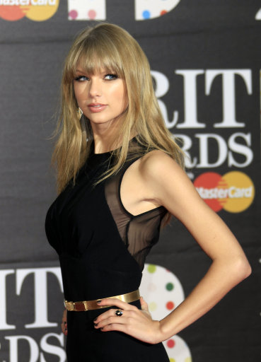 One Direction, Taylor Swift And Other Stars At Brit Awards 2013 – Red Carpet