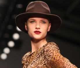 Caroline Charles A/W11 Catwalk Show At London Fashion Week – Pictures