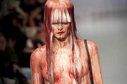 Charlie Le Mindu – Another Naked Fashion Show At London Fashion Week – Pictures (NSFW)