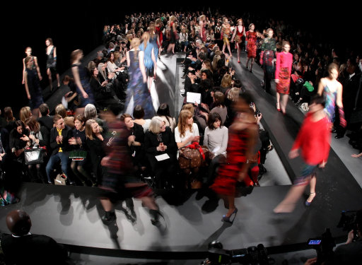 Erdem A/W 11 Catwalk Show London Fashion Week – Pictures