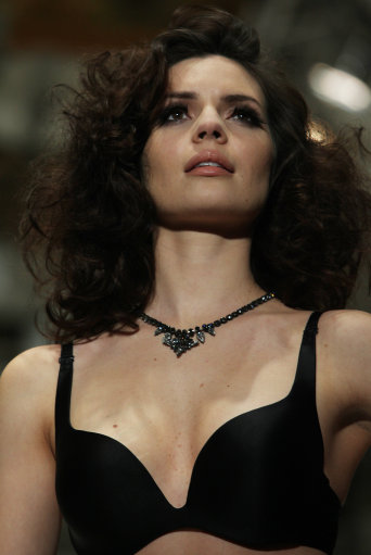 Triumph Catwalk Show London Fashion Week – Pictures