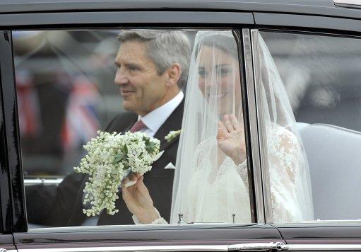Kate Middleton Wedding Dress Designed By Sarah Burton – In Pictures