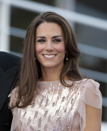 The Dazzling Duchess – Kate And Wills Attend ARK Gala