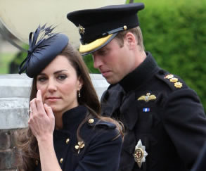 Duchess Of Cambridge Presents Medals For Service In Afghanistan