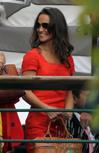 Pippa Middleton Attends Wimbledon – Pictures