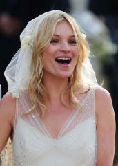 Kate Moss Marries In Galliano – Pictures