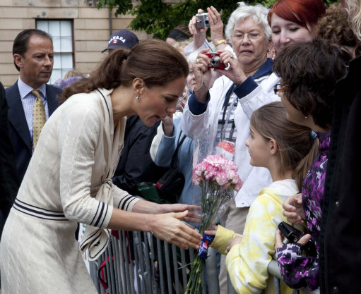 Kate Wears McQueen On Day Five Of Canadian Royal Tour
