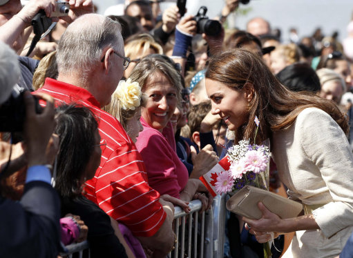 Kate And Wills In Canada – Kate Cries Off Playing Hockey Because Of Her L.K. Bennett Heels