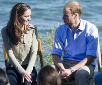 Kate And Wills Enjoy The Great Outdoors On Remote Lake In Canada