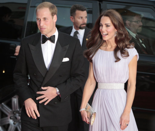 Kate And Wills Join Hollywood A-List On Red Carpet For BAFTA Brits