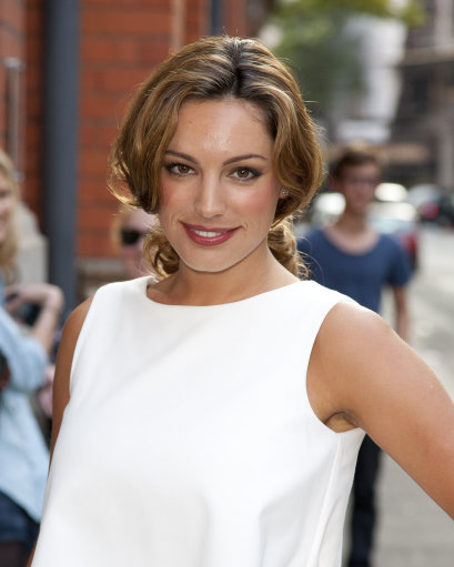 Kelly Brook Attends Reebok ZigTech and Wallpaper Magazine Private View In London