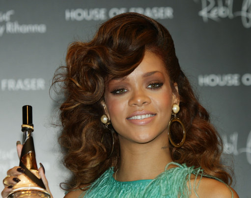 Rihanna Fragrance Launch – London