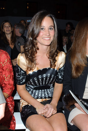 Pippa Middleton And Other Celebrities Attend Temperley S/S '12 Show – London Fashion Week