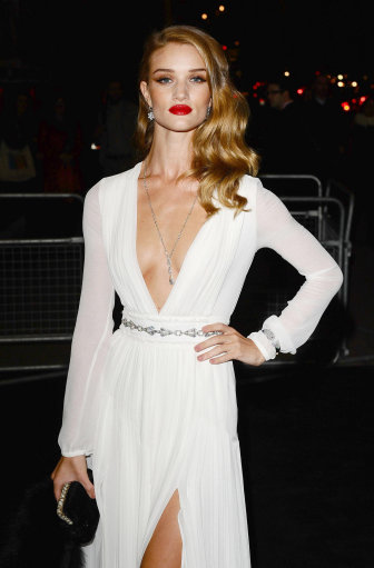 Rosie Huntingdon-Whiteley And Other Celebrities Attend Moet & Chandon Etoile Award Gala – London