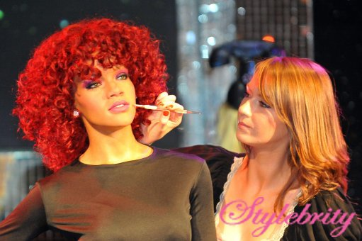 Rihanna Wax Figure At Madame Tussauds – Pictures