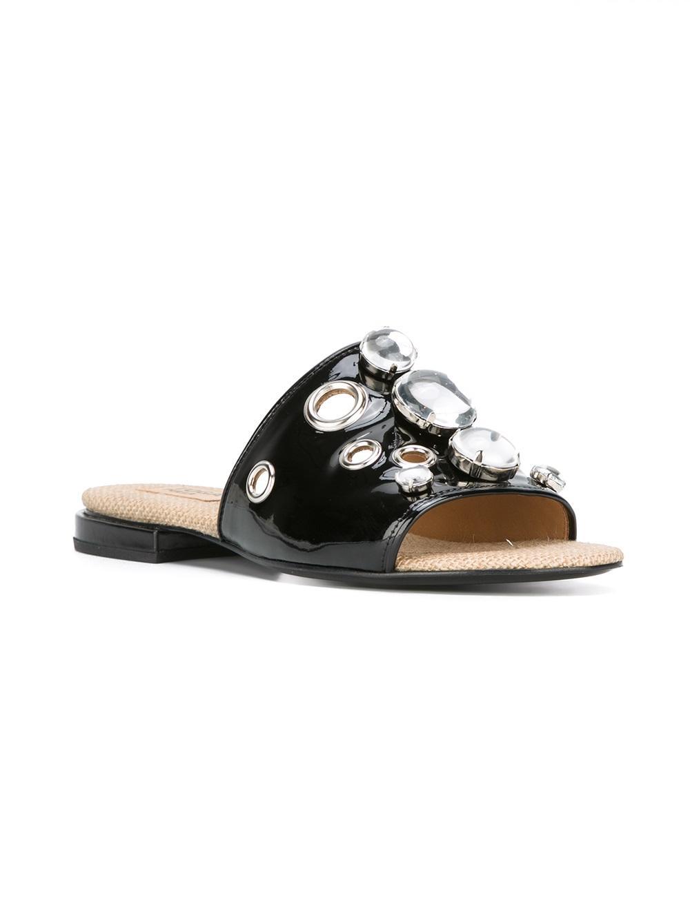 TOGA PULLA embellished flat sandals