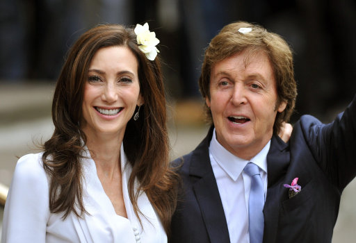 Sir Paul McCartney Marries Nancy Shevell – Pictures
