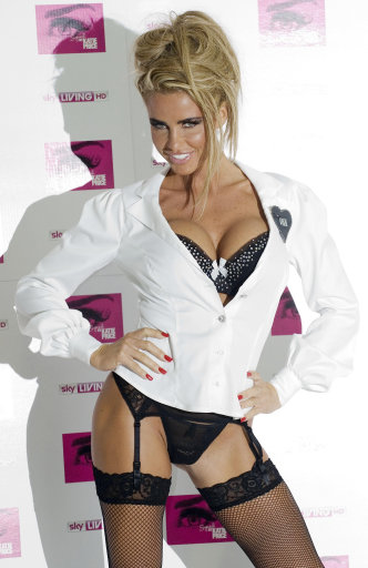 Katie Price In 'Search For A Slapper' Sky TV Photocall – Pictures