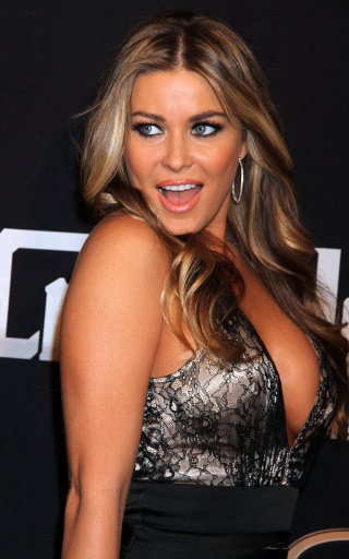 Carmen Electra Attends 'Crazy Horse II' Two Year Anniversary In Las Vegas
