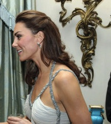 Duchess Of Cambridge Wears Amanda Wakeley As She Hosts Reception At Clarence House