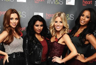 The Saturdays Switch On Oxford Street Christmas Lights – London