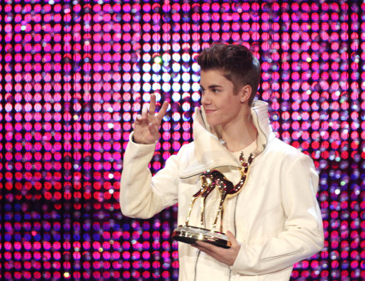 Justin Bieber Attends BAMBI Awards In Germany