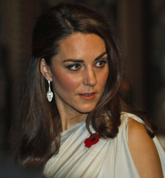 The Duchess Of Cambridge Dazzles In Grecian Style Gown At St James's Palace Dinner