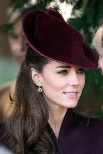 Duchess Of Cambridge attends Christmas day church service at Sandringham
