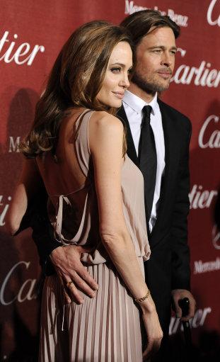 Brad Pitt, Angelina Jolie and other Hollywood stars attend 2012 Palm Springs international film festival awards gala