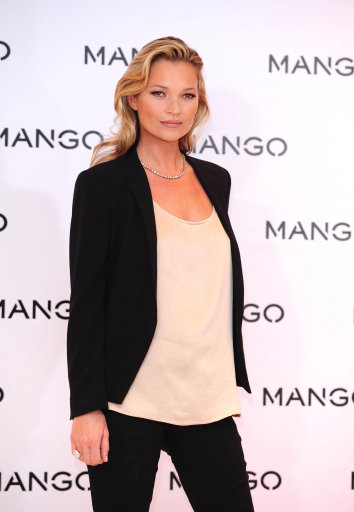 Kate Moss for Mango photocall – London