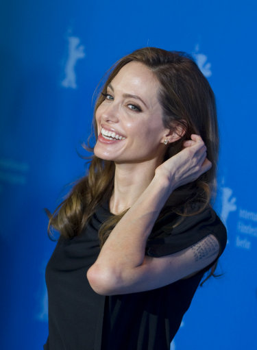 Angelina Jolie attends German Berlinale In the Land of Blood and Honey Photo Call