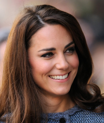 Duchess of Cambridge visits Fortnum & Mason with the Queen And Camilla