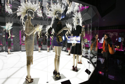 Louis Vuitton-Marc Jacobs exhibit in the Art Decoratifs Museum in Paris