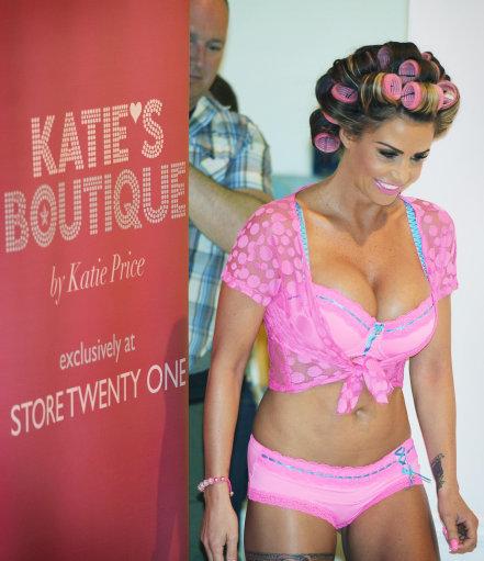 Katie Price Lingerie Launch – London