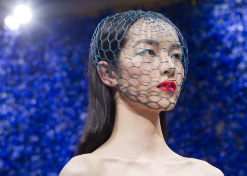 Dior 2013 Haute Couture Collection – Paris Fashion Week (Editor notes nudity)