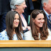 Duchess Of Cambridge and Pippa Middleton attend Wimbledon Final