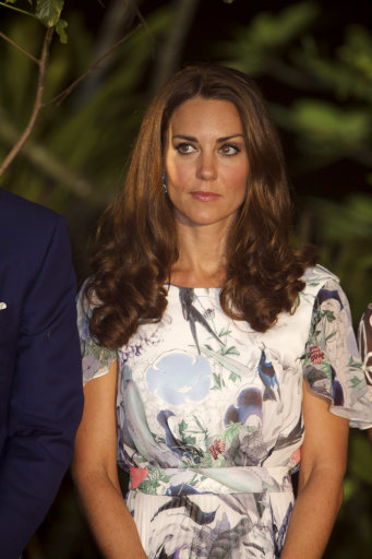 Duchess Of Cambridge on Royal tour of the Far East and South Pacific