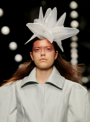 Corrie Nielsen s/s 13 catwalk – London Fashion Week