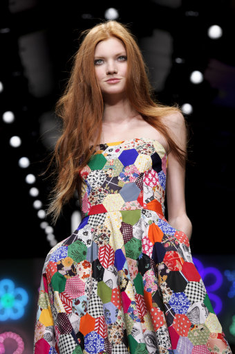 Jasper Conran s/s 13 Catwalk – London Fashion Week