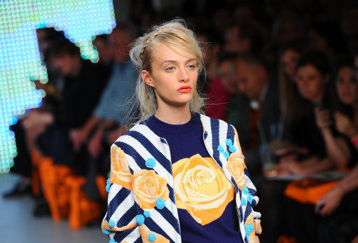 Holly Foulton s/s 13 Catwalk – London Fashion Week