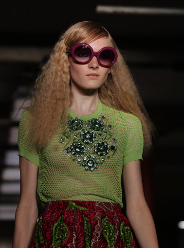 Moschino Cheap & Chic s/s 13 Catwalk – London Fashion Week