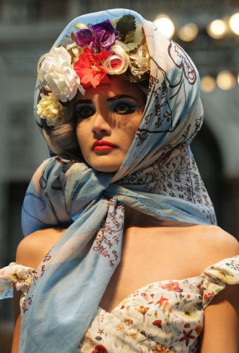 Vivienne Westwood s/s 13 Red Label Catwalk – London Fashion Week