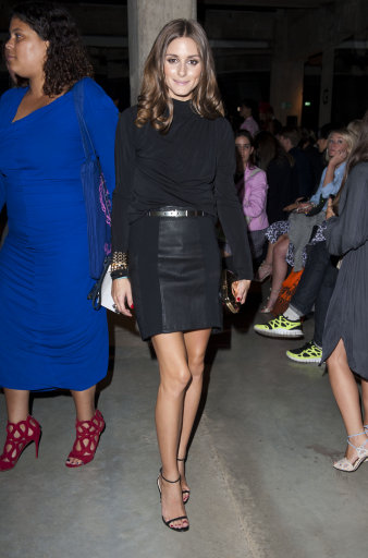 Olivia Palermo and Other Celebs  Front Row At Jonathan Saunders  – London Fashion Week