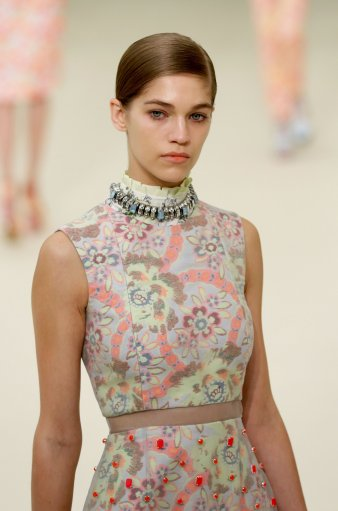 Erdem s/s 13  Catwalk – London Fashion Week