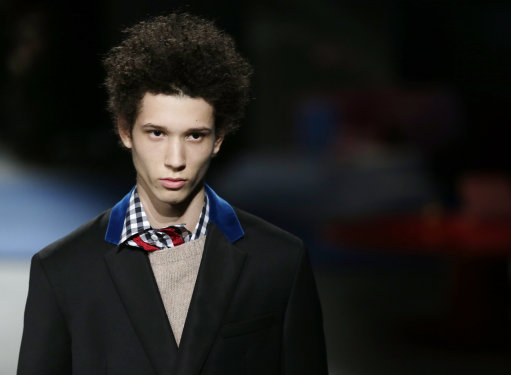 AUTUMN/WINTER 2013-14 MENSWEAR &#8211; PRADA