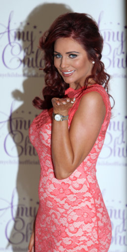 Amy Childs Clothing Collection for Spring Summer 2013 Launch – London