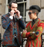 London Fashion Week Fashionistas 2013 – Pictures