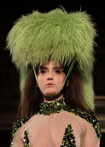 Pam Hogg Naked Fashion Show a/w 2013 – London Fashion Week
